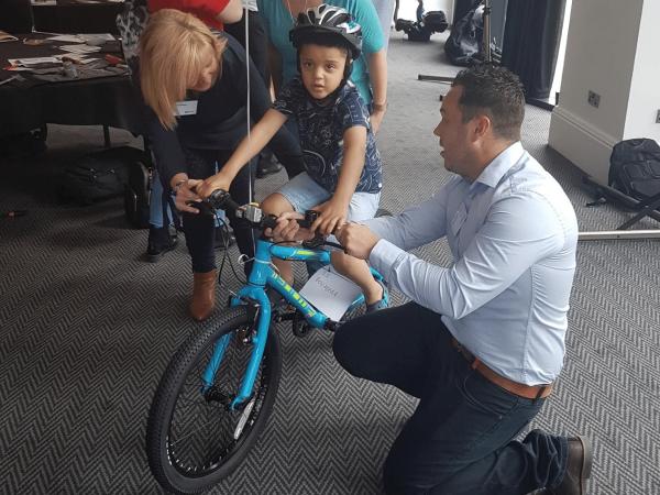CSR team building Charity Bike Build