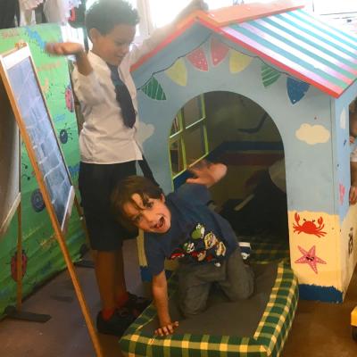 Fun House CSR team building challenge