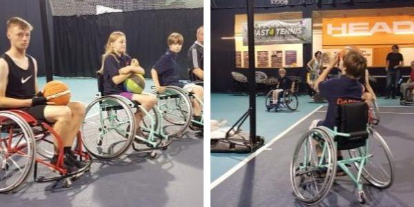Sport wheelchair team building CSR O3e