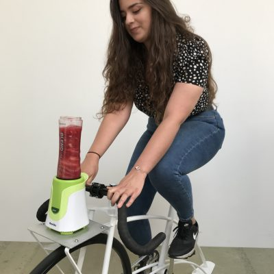 pedaling smoothies