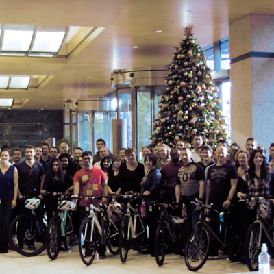 CSR Christmas Charity Bike Build Party